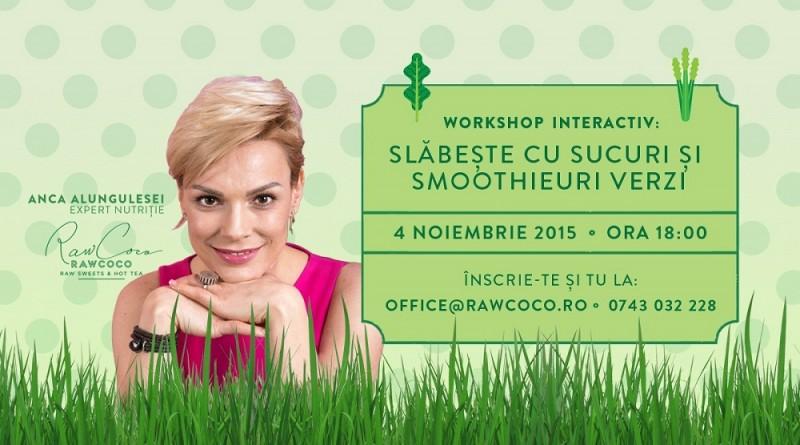 Workshop Verde - ANCA ALUNGULESEI