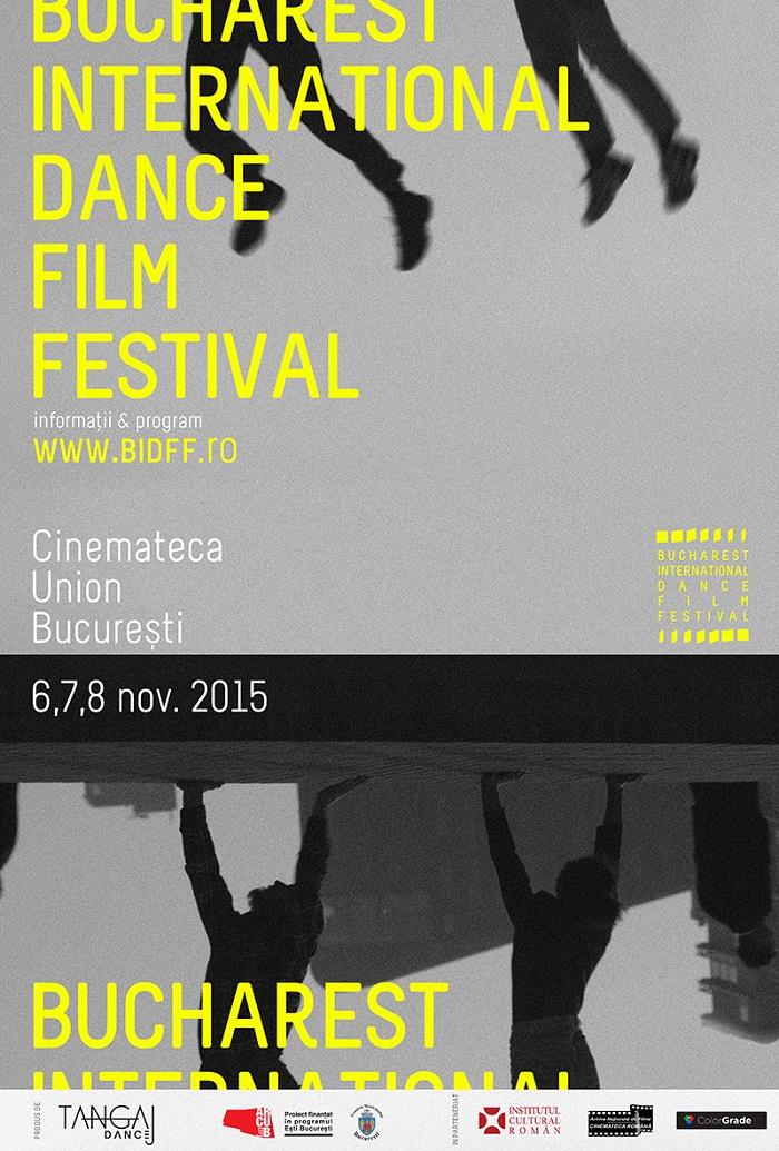 POSTER BIDFF – festival de dans bucuresti
