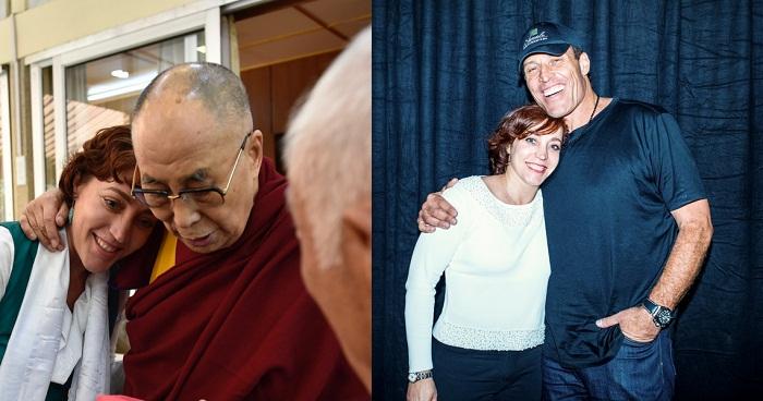 Dalai Lama si Tony Robbins