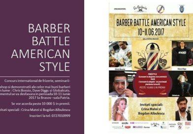"""Crina Matei pe scenă alături de cei mai buni barberi din lume la """"BARBER BATTLE AMERICAN STYLE"""""""