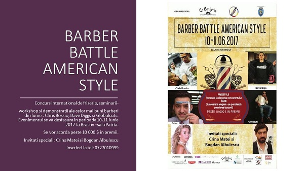 BARBER BATTLE AMERICAN STYLE