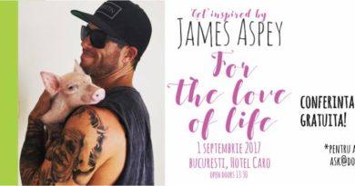 James Aspey vine in Romania