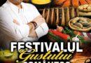 Chef Cătălin Scărlătescu organizează Festivalul gustului românesc