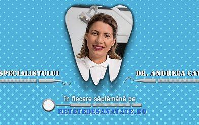 Sfatul specialistului, Dr. Andreea Catrina – saptamana 2