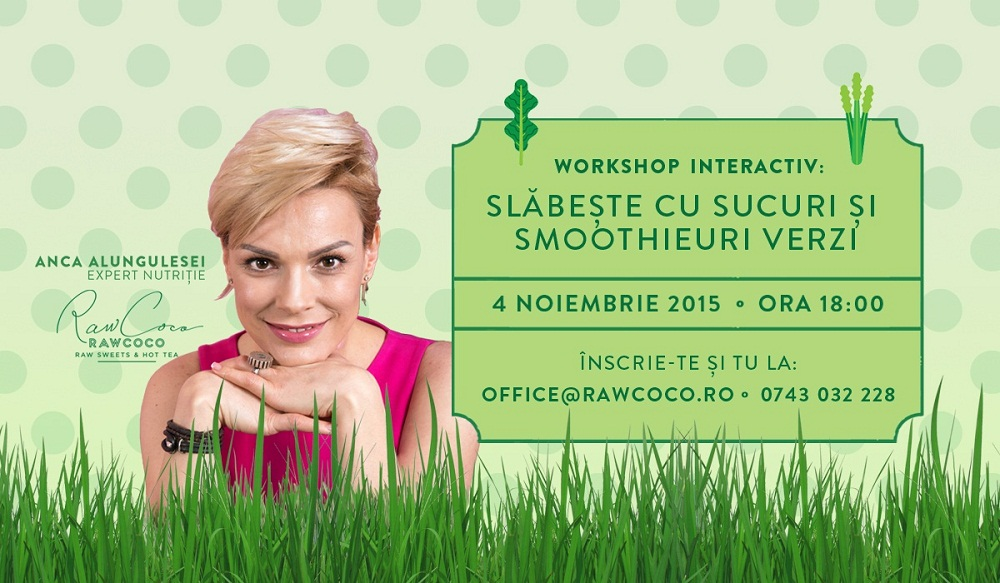 Workshop Verde – ANCA ALUNGULESEI